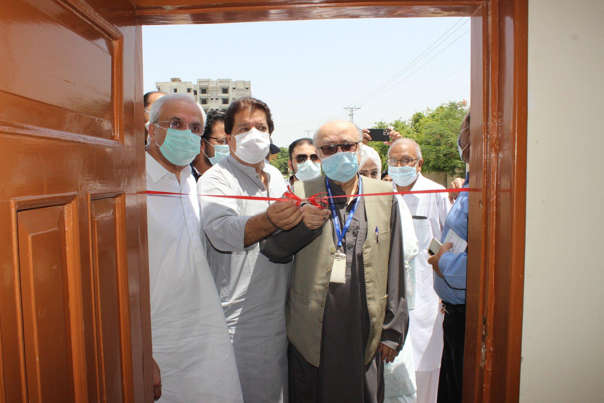 Inauguration of COVID-19 Vaccination Centre